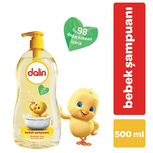 Pompalı Bebek Şampuanı 500 ml