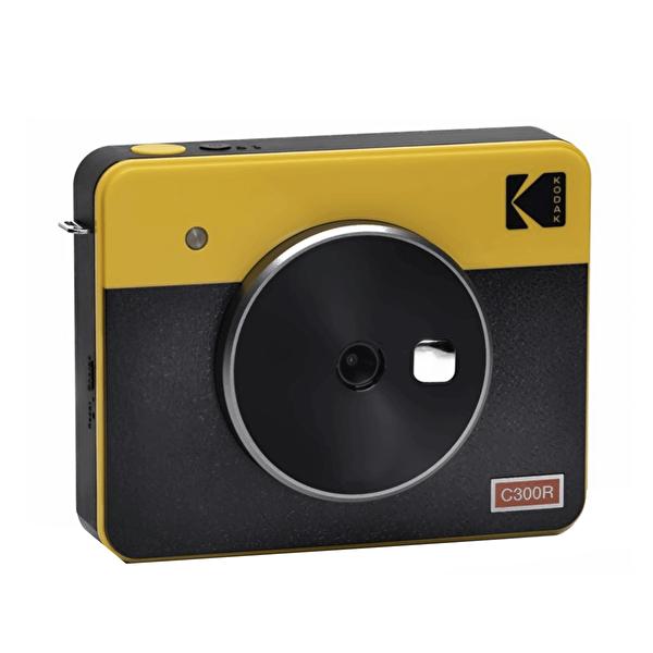 Mini Shot Combo 3 C300RY Anında Baskı Dijital Fotoğraf Makinesi Retro