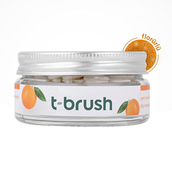 Diş Macunu Portakal Aromalı Flörürlü 90 Tablet