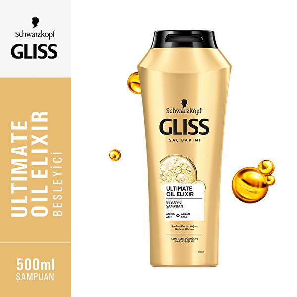 Ultimate Oil Elixir Şampuan 500 ml