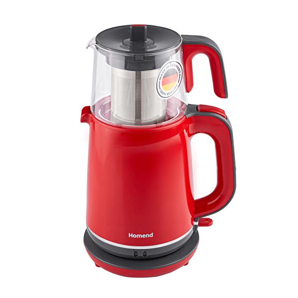 Royaltea Çay Makinesi Kırmızı 1731H