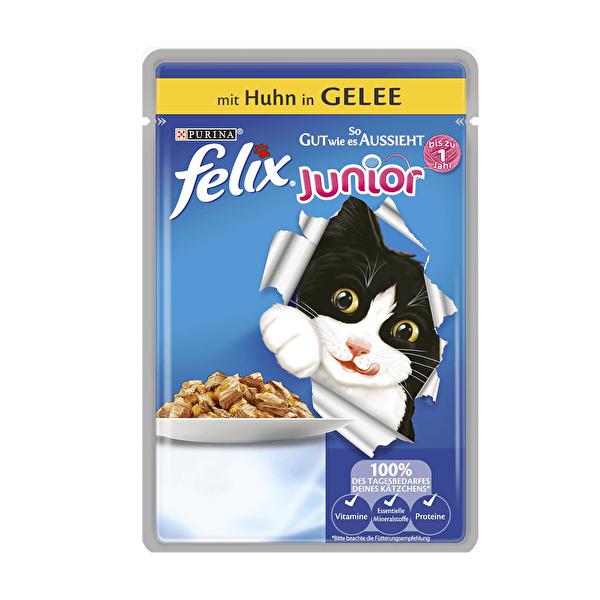 Felix Yaş Kedi Maması Tavuklu Yavru Kediler 100 gr