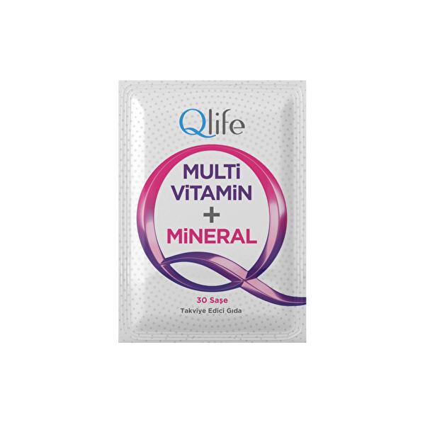 Multi Vitamin Takviye Edici Gıda Saşe 30 Adet
