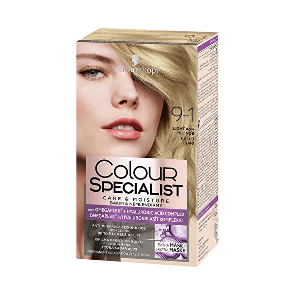 Colour Specialist Saç Boyası 9-1 Küllü Sarı