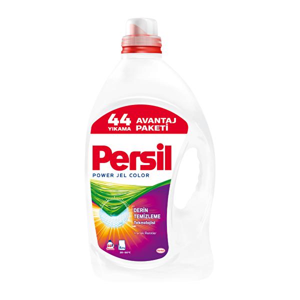 Power Jel Çamaşır Deterjanı Color 44 Yıkama 3080 ml