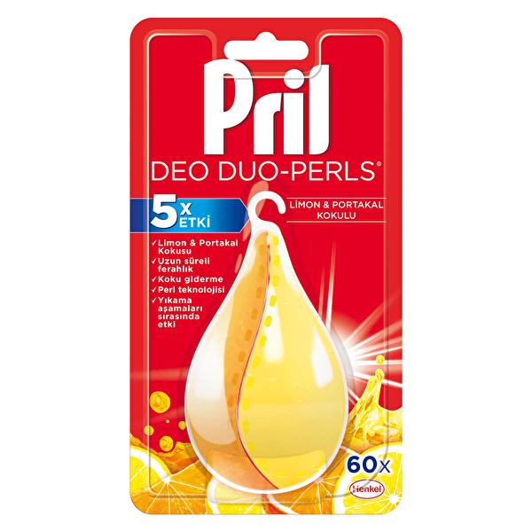 Perls Bulaşık Makinesi Deodorantı Limon ve Portakal 60 Yıkama