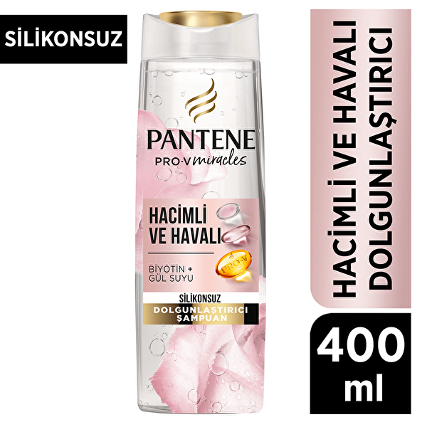 Pro-V Miracles Şampuan Purelift Rose Water 400 ml