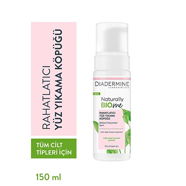 Naturally Bio Me Yüz Temizleme Köpüğü Rahatlatıcı 150 ml