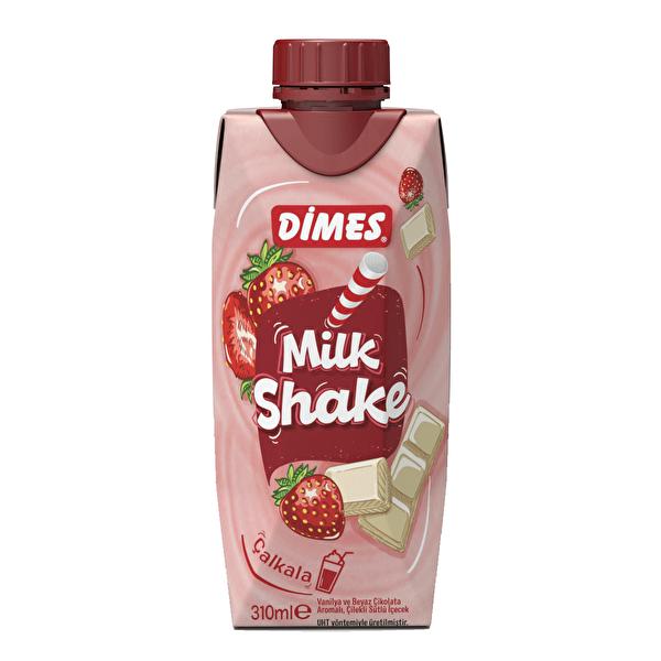 Milkshake Çilek ve Beyaz Çikolata Aromalı 310 ml