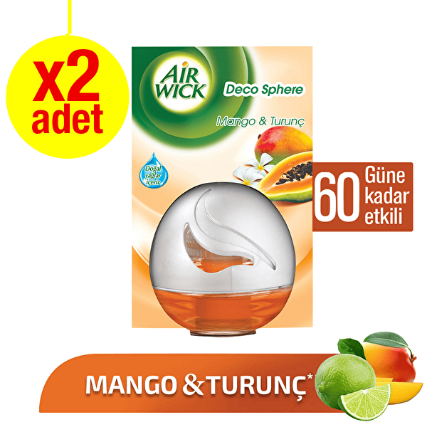 Decosphere Oda Kokusu Mango İkili Fırsat Paketi