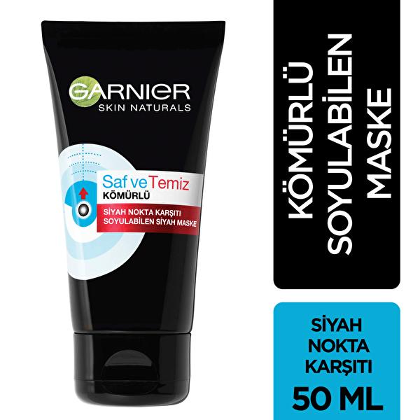 Saf ve Temiz Soyulabilir Kömürlü Maske 50 ml
