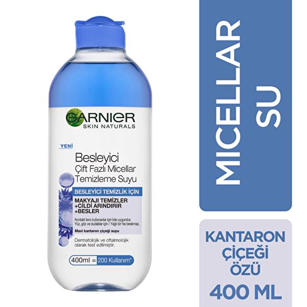 Besleyici Çift Fazlı Micellar Temizleme Suyu 400 ml