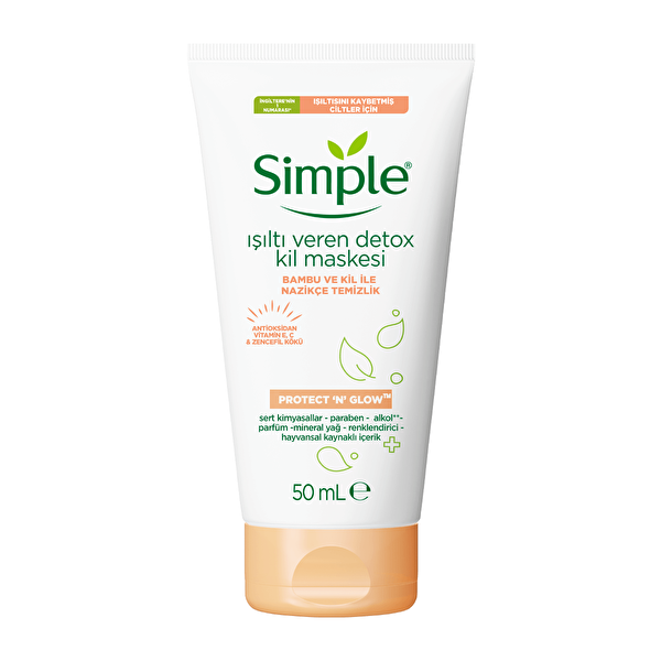 Protect and Glow Kil Maskesi Detoks 50 ml