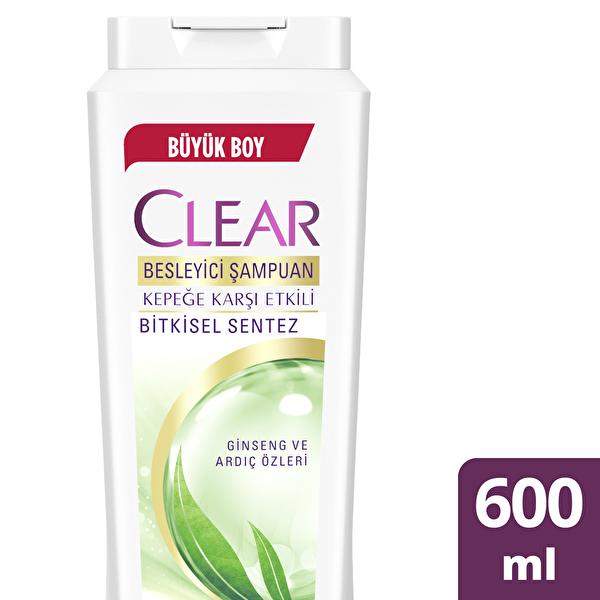 Bitkisel Sentez Saç Bakım Şampuanı 600 ml