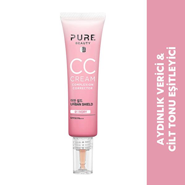 Cc Cream Spf50 Pa+++ Ivory 30 ml