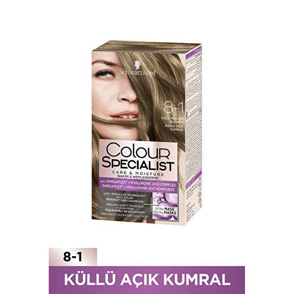 Colour Specialist Saç Boyası 8-1 Küllü Açık Kumral