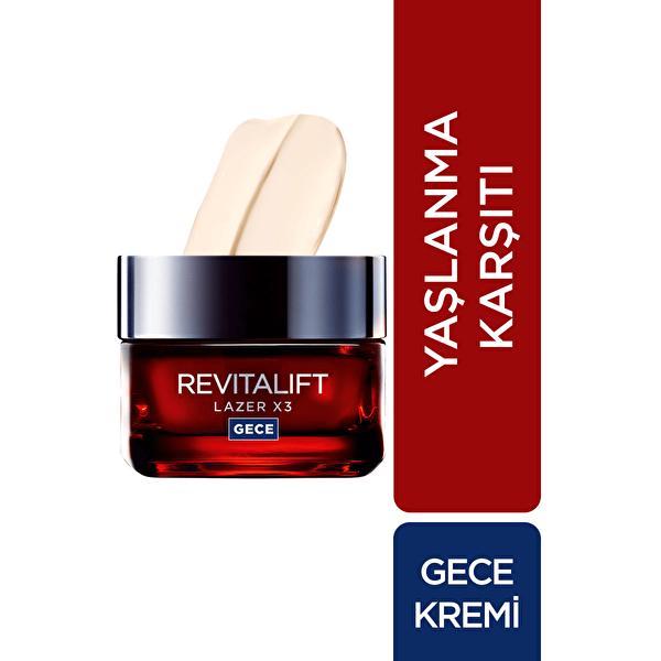 Revitalift Laser Gece Kremi 50 ml
