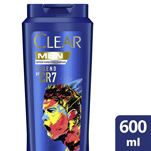 Erkekler İçin Şampuan Kepeğe Karşı Etkili Legend Ronaldo Limited Edition 600 ml